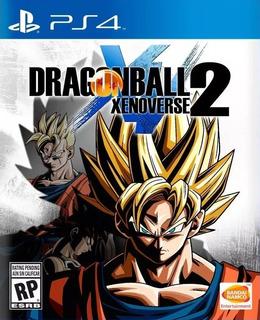 Dragon Ball Xenoverse 2 Ps4 Fisico Sellado Nuevo Madeinpadua