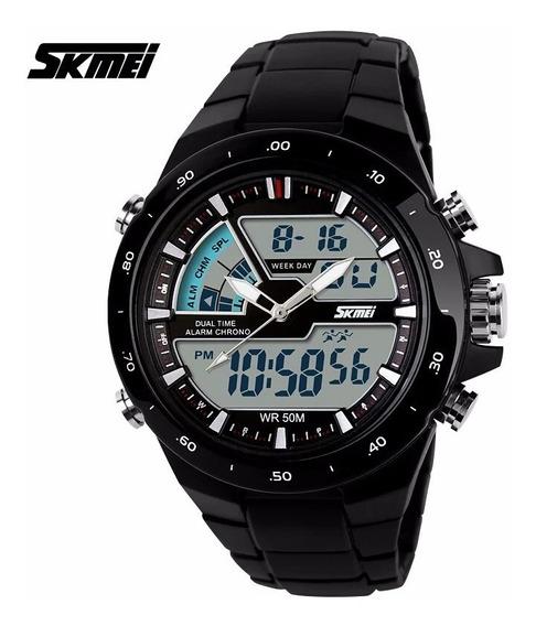 Relogios Skmei 1016s-shock Original Prv D´agua 50m Promoçao