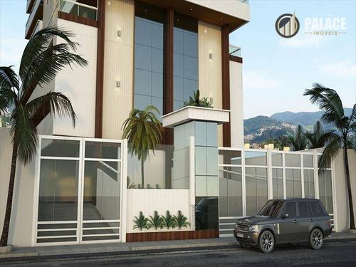 Imagem 1 de 13 de Apartamento Com 2 Dormitórios À Venda, 81 M² Por R$ 450.000,00 - Aviação - Praia Grande/sp - Ap1707