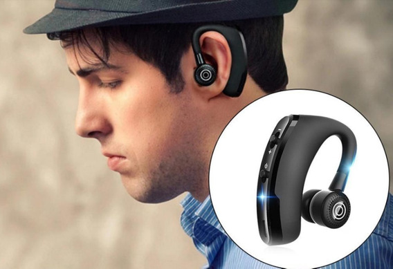 Fone Bluetooth V9 Tws Para Motoristas Etc