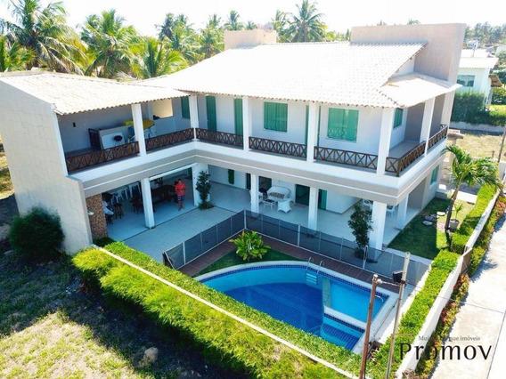 Confira! Vendo Belíssima Casa De Alto Padrão Cond. Portal Do Mar - Ca0387