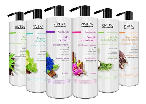 Shampoo O Acondicionador Riviera Sin Sal 1 Lt