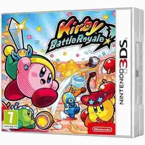 Jogo Kirby Battle Royale Nintendo 3ds.
