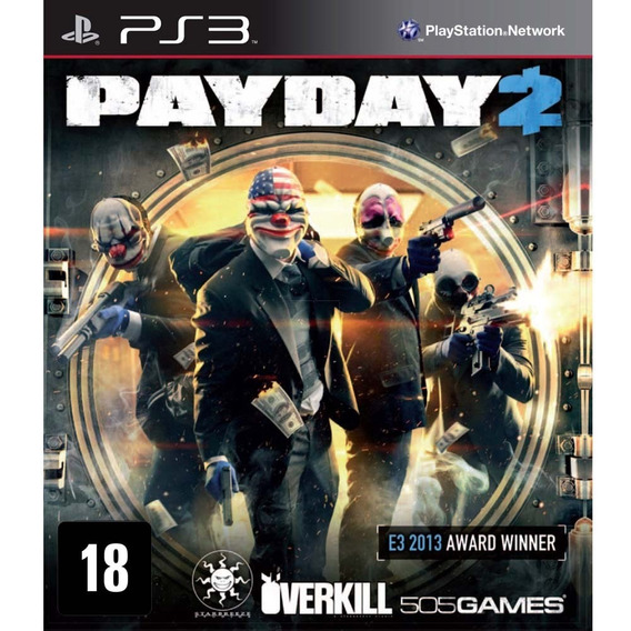Ps3 Payday 2 |original| Psn Midia Digital | Imediato!!!!