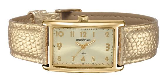 Relógio Mondaine Feminino Analógico Dourado 94856lpmvdh2