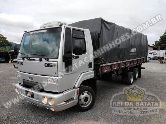 Cargo 815 Truck 6x2 Cummins Turbo Intercooler Graneleiro 7m