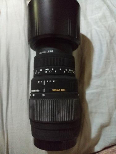 Lente Sigma 70-300mm 1:4-5.6 Para Canon