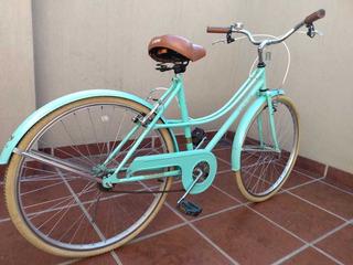 Bicicleta Dama Urbana Vintage Estilo Retro