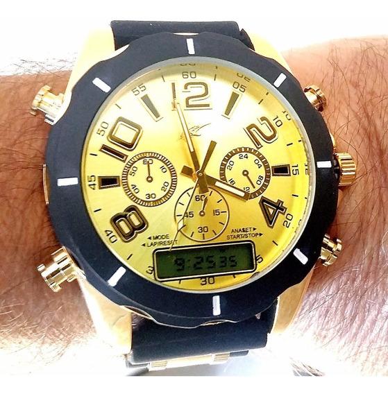 Relógio Masculino Digital E Analógico Barato