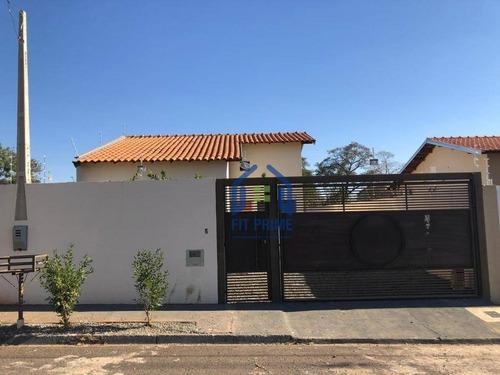 Casa Com 2 Dormitórios À Venda, 63 M² Por R$ 175.000 - Loteamento Jorge Rodrigues - São José Do Rio Preto/sp - Ca2466