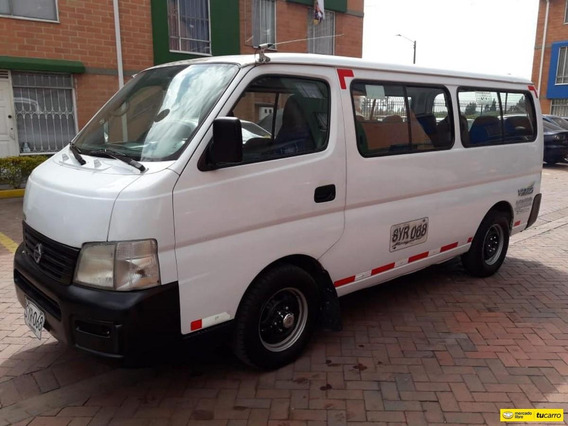 Nissan Urvan Pasajeros Autobus Microbus