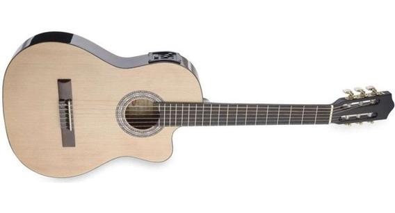 Guitarra Electrocriolla Stagg 1/2 Caja Microfono Envio