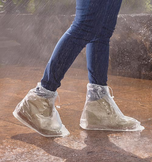 Cubre Zapatos Para La Lluvia