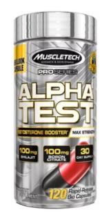 Muscletech Alpha Test 120 Capsulas Precursor