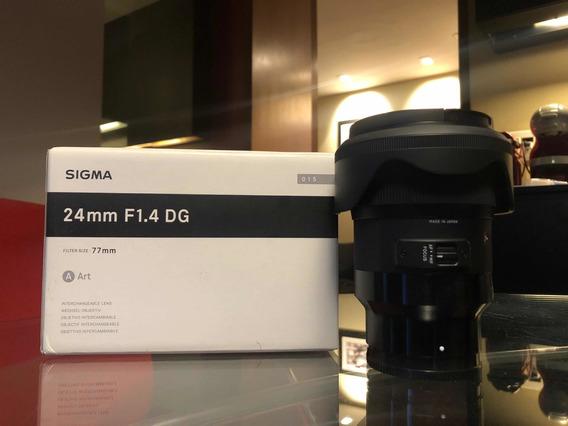 Lente Sigma Art 24mm 1.4 E-mount Sony
