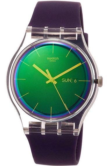 Relógio Swatch Unisex Polapurple - Suok712