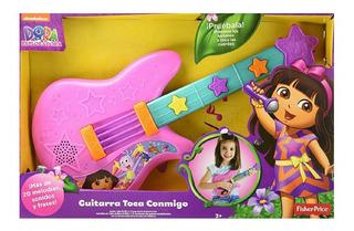 Fisher Price Dora Guitarra Canta Con Migo Nueva Disponible.