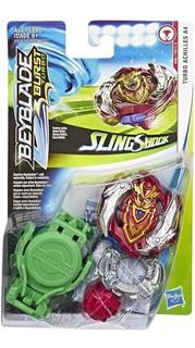 Beyblade Burst Turbo Achilles A4 Sling Shock Hasbro Orig