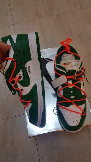 Nike Dunk X Off White Pine Green