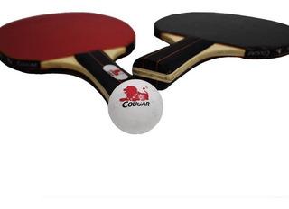 Set Paletas De Ping Pong + Red + Pelotas Excelente Calidad