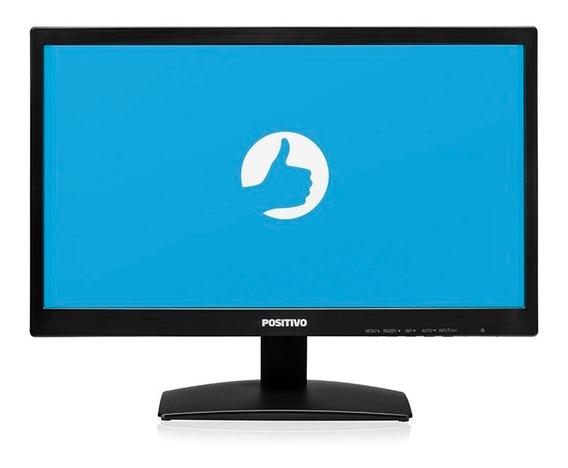 Monitor Positivo 20m37aa Tela 19.5 - Preto