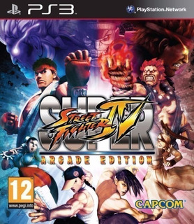 Super Street Fighter Iv Arcade Edition ~ Ps3 Digital Español