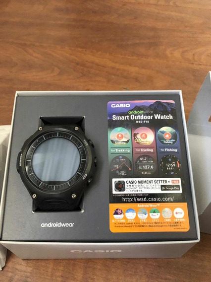 Relógio Cássio Smart Watch Androidwear Wsd-f10