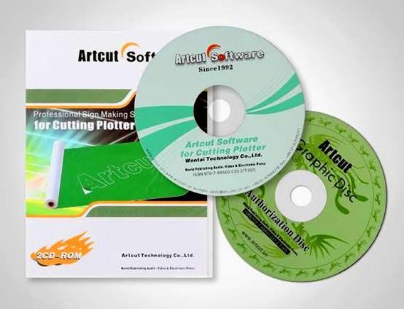Artcut 2009 Plotter Recorte Ptbr + Brinde( Leia À Descrição)