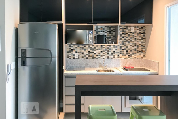 Apartamento Para Aluguel - Brooklin, 1 Quarto, 38 - 893047709