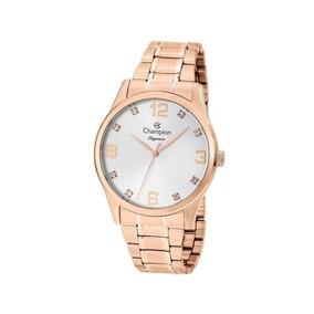 Relógio Champion Feminino Rosê Cn25663z