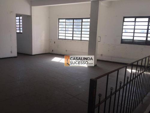 Imagem 1 de 11 de Galpão À Venda, 1750 M² Por R$ 1.460.000,00 - Cidade Líder - São Paulo/sp - Ga0031