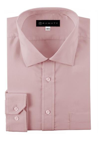 Camisas De Vestir Modernas Hombre Manga Larga
