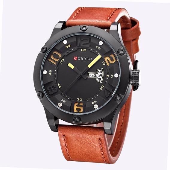Relógio Masculino Curren 8251 Calendário Original