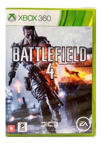 Jogo Xbox 360 Battlefield 4 Midia Fisica Usado Português