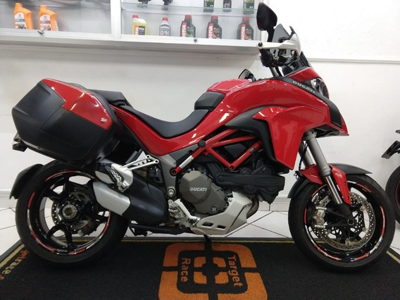 Ducati Mts 1200 S Touring - Vermelha 2017 - Target Race