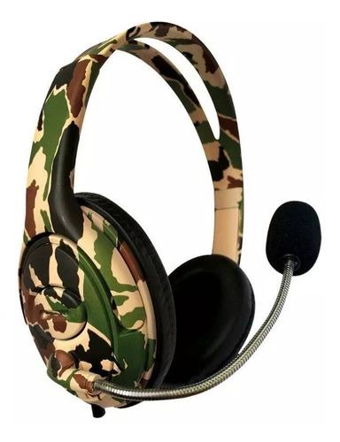 Imagen 1 de 3 de Auricular Ps4 Headset Gamer Play 4 Ps4 Mic Netmak Nm-battle