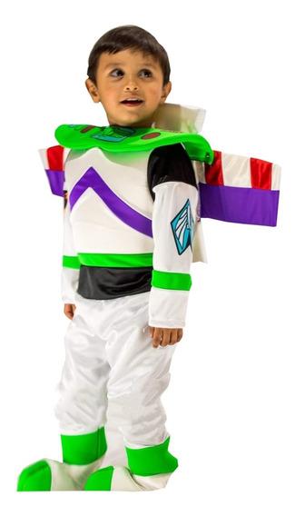 Disfraz Traje Estilo Buzz Lightyear Toy Story Linea Premium