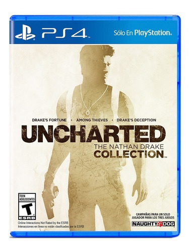 Uncharted Nathan Drake Collections Ps4 ¡ Totalmente Nuevo!