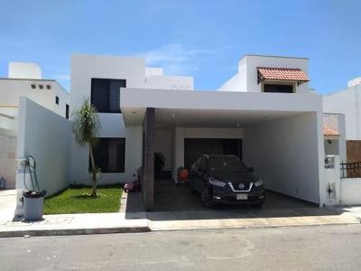 Casa En Renta Equipada En Merida Yucatan, Santa Fe Norte
