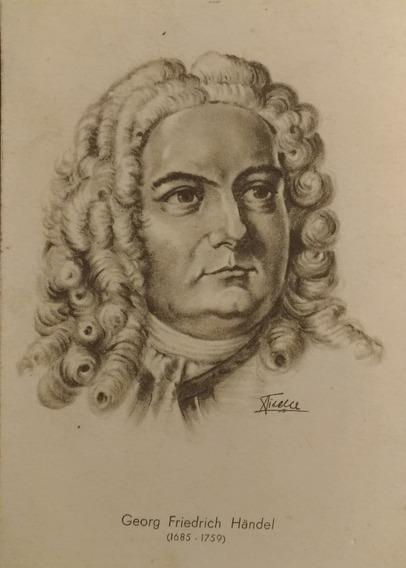 Tarjeta Postal Antigua De Handel - Dibujo De Piselli