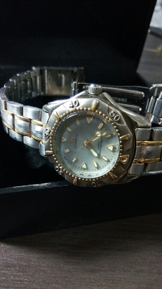Relógio Cosmos Feminino Diver Os38623 Quartz