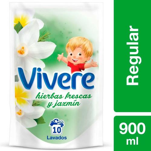 Vivere Suavizante Ropa Hierbas Frescas Y Jazmin 900ml