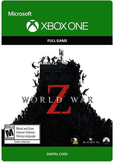 World War Z Xbox One Digital Código De 25 Dígitos Original