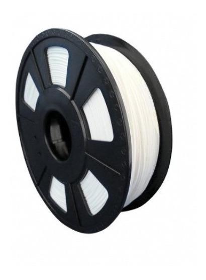 Filamento Pla 1,75 Mm Branco 1kg Para Impressora 3d