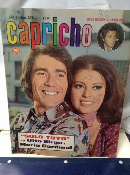 Revista Capricho María Cardinal