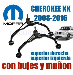 Combo 2 Mesetas Cherokee Kk 2008-2016 Arañas Superior Lh&rh