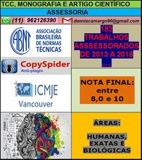 Formatação Abnt Ou Vancouver De Tcc, Artigo E Monografia