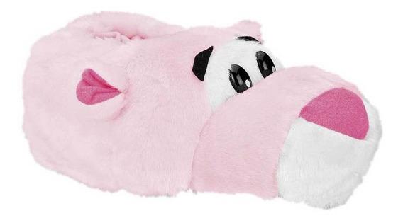 Pantufla Parvus Mujer Pantera Color Rosa Talla Gde-gde Scpk-