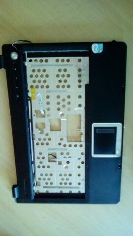 Carcaça Base Do Teclado + Alto-falantes Note Epcom Ms 1024