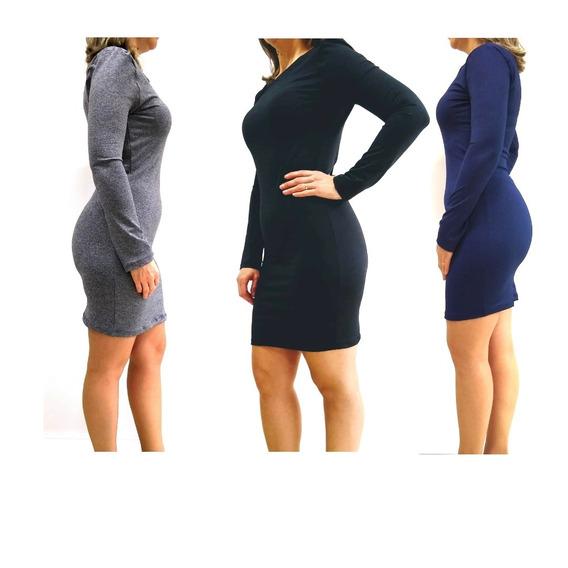Roupa Feminina - Vestido Direto De Fábrica - Combo 5 Peças